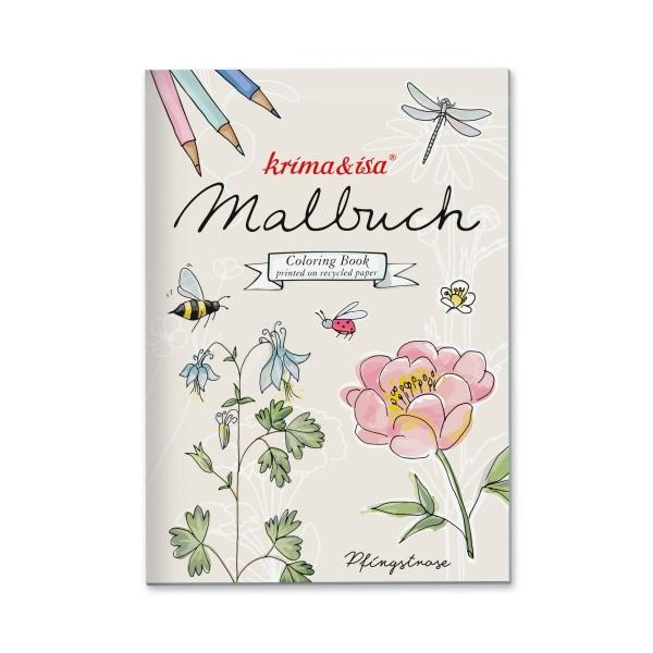 Malbuch Gartenliebelei A5