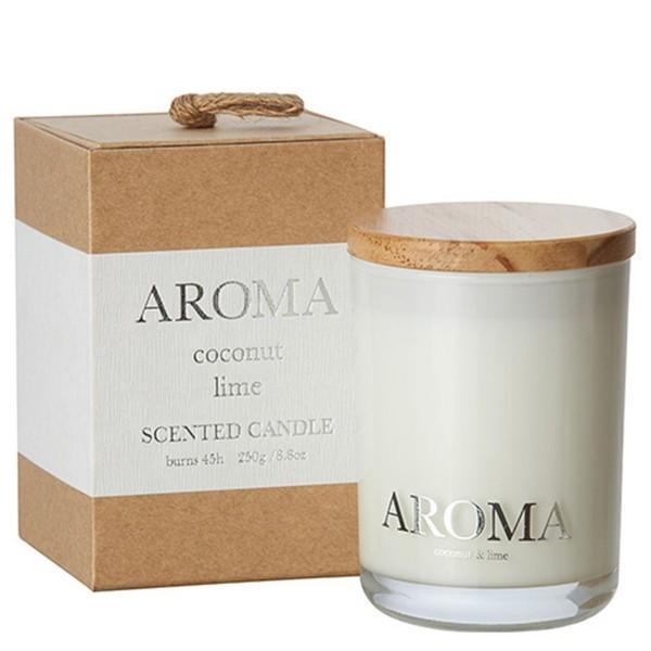 Aroma Duftkerze coconut & lime M