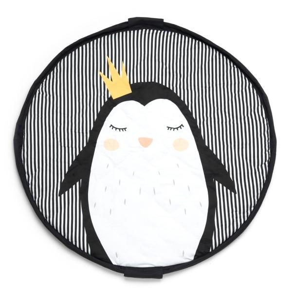 Aufräumsack Krabbeldecke Pinguin
