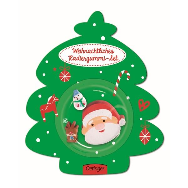 Radiergummi Weihnachtsmann