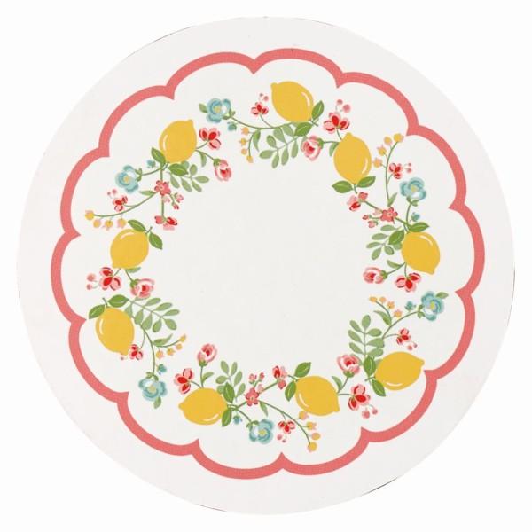Untersetzer Limona weiß