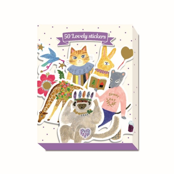 Stickerbox: Aïko (50)