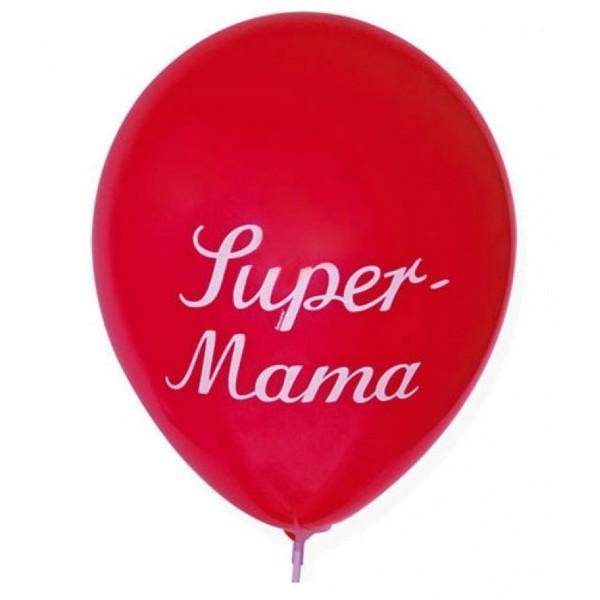 Luftballon Super-Mama