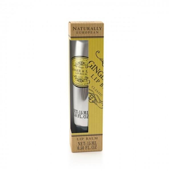 Naturally European Ginger & Lime Luxury Lip Balm