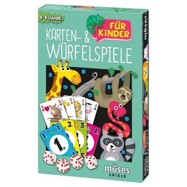 Karten- und Würfelspiele für Kinder