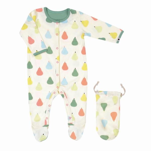 Pyjama 6 Monate Birnen