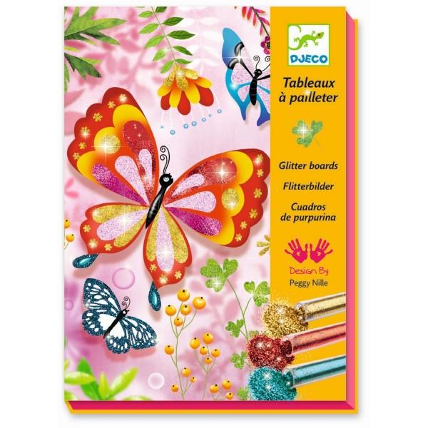 Glitzersand Butterflies