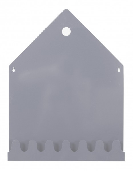 ROOMMATE Magnetboard Haus Grau