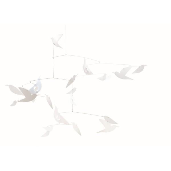 Mobile White Bird ( FSC Papier )