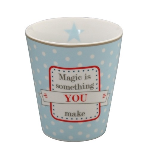 "Becher ""Magic is something you make"""