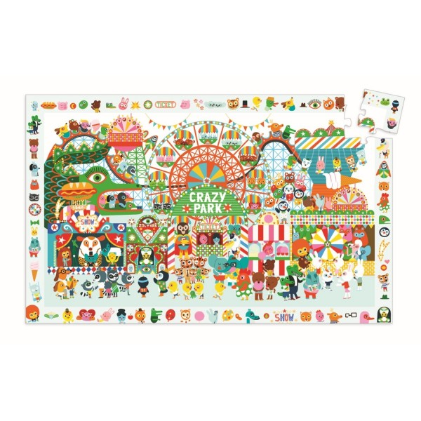 Puzzle Wimmelbild Crazy Park - 35 Teile