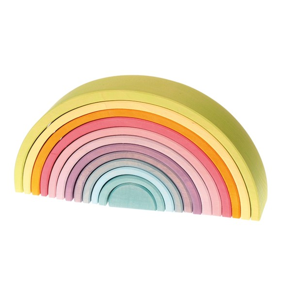 Regenbogen Pastell