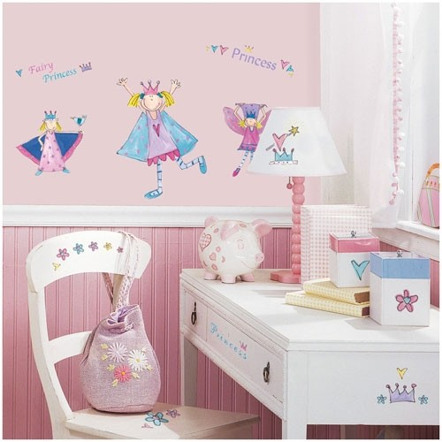 Wandsticker Fairy Princess
