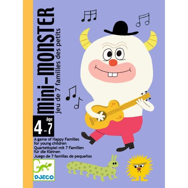 DJECO Kartenspiel Mini Monster