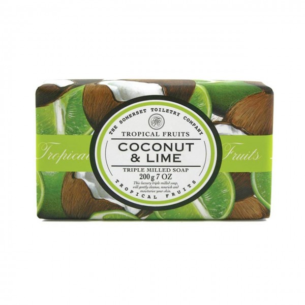 Natural European Coconut & Lime Seife