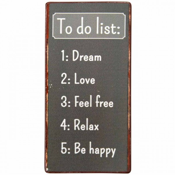Magnet To Do List:...