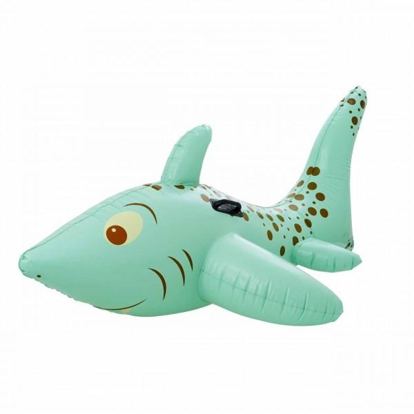 Aufblasbarer Haifisch türkis