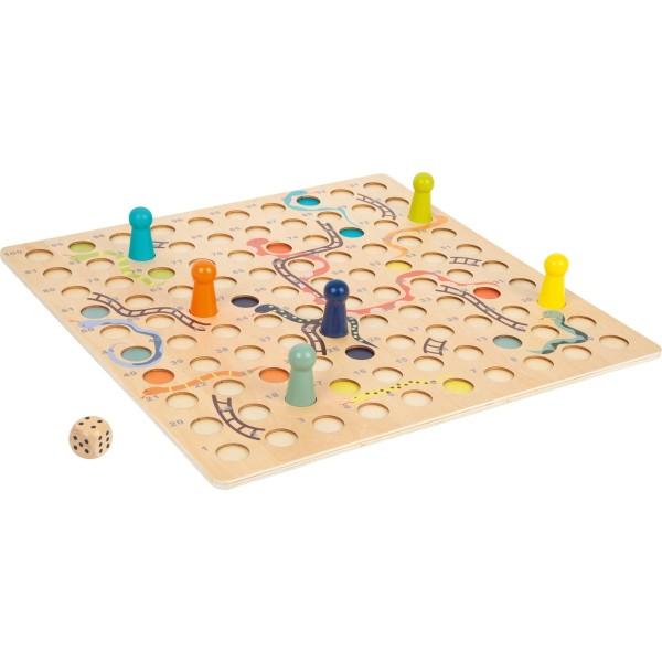 Schlangen und Leitern Spiel XL