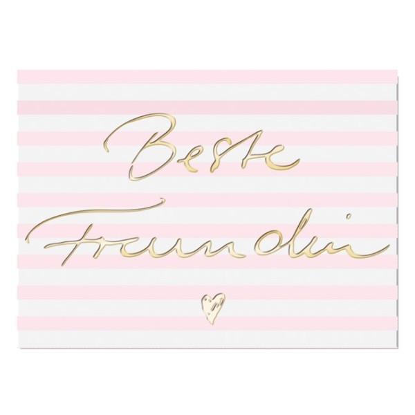 Postkarte Beste Freundin