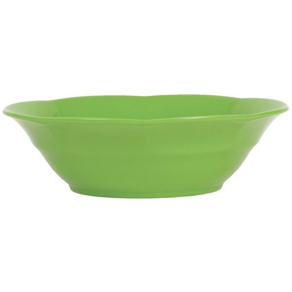 Melamin Suppenteller Granny Apfelgrün