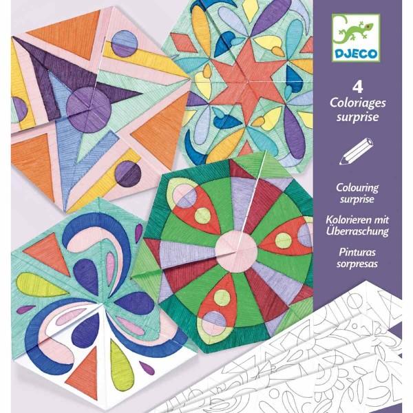 Mandala Malbuch für Kinder NEU lila über 80 Malvorlagen