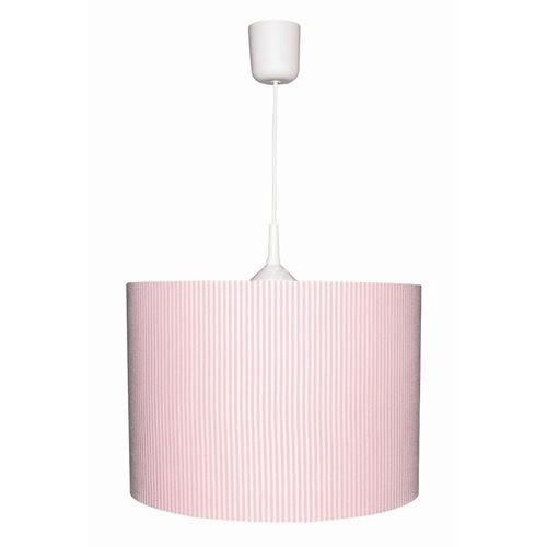 Kinderlampe Streifen schmal rosa