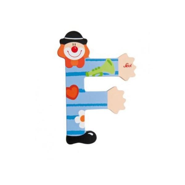 Buchstabe Clown F