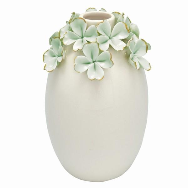 Vase flower pale green