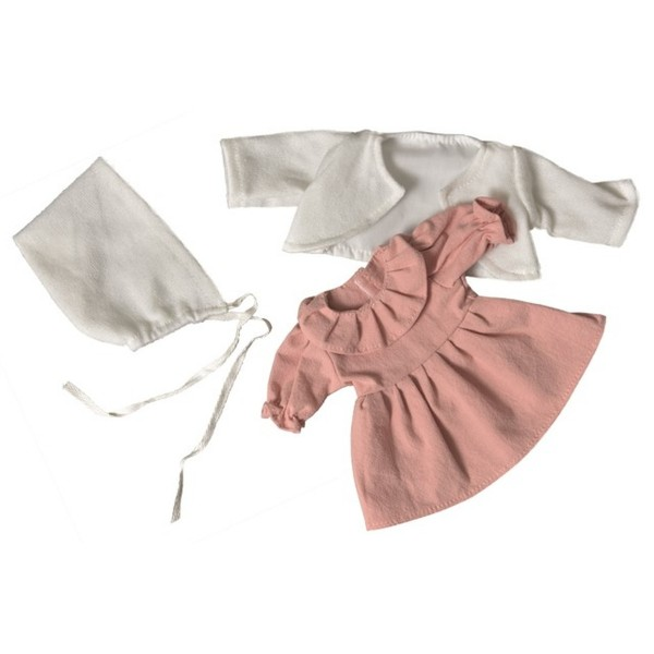 Puppenkleidung Dusty Pink