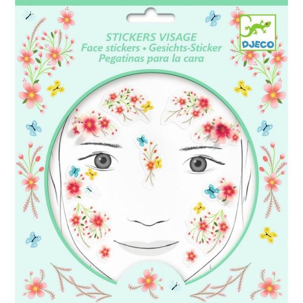 Gesichtssticker: Frühlingsfee