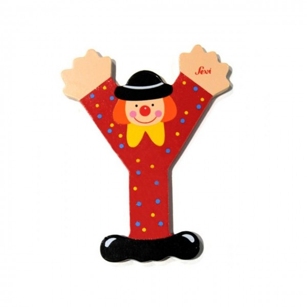 Buchstabe Clown Y