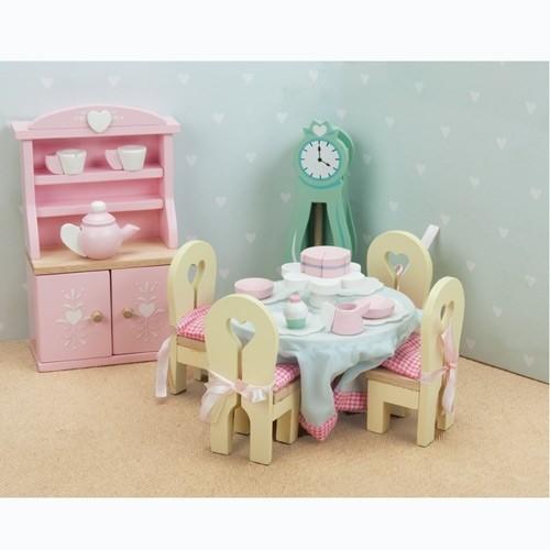 Le Toy Van Puppenhaus Möbel Esszimmer