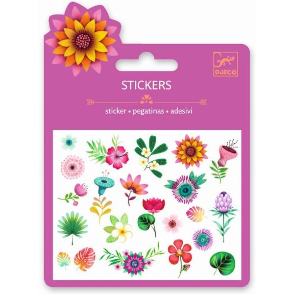 Mini Sticker: Tropische Blumen