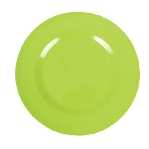 Melamin Teller - Grün klein