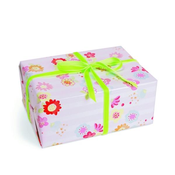 KRIMA Geschenkpapier Blumenallerlei