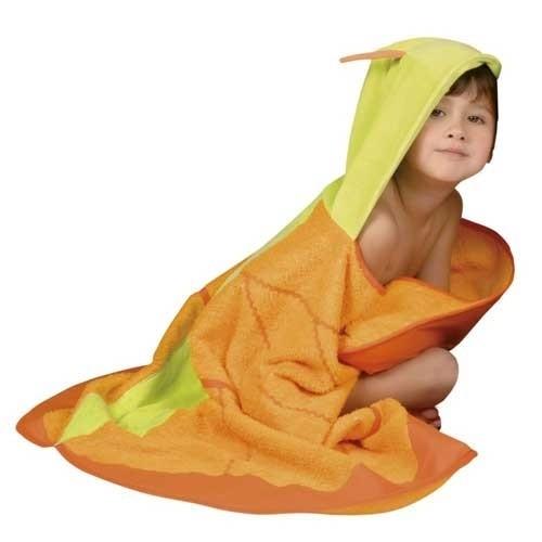 Badetuch Schmetterling gelb