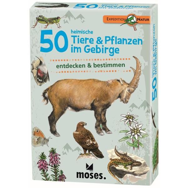 50 heimische Tiere & Pflanzen im Gebirge