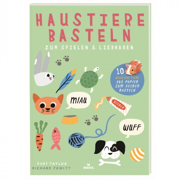 Haustiere Basteln Von Moses Verlag
