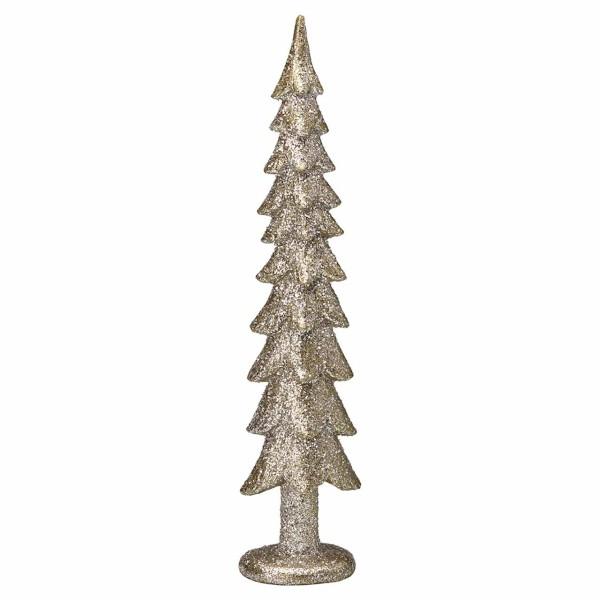 Weihnachtsbaum Dezember silber 33 cm