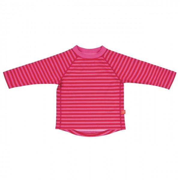 Long Sleeve Rashguard girls, 24 Monate, pink stripes