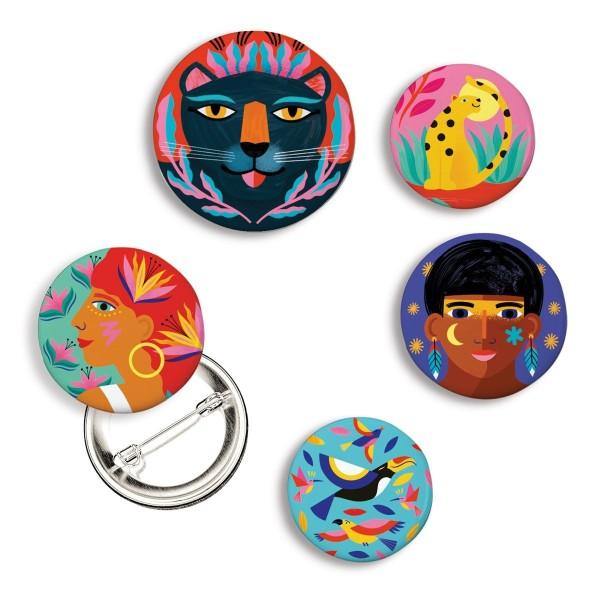 Lovely Badges: Wild