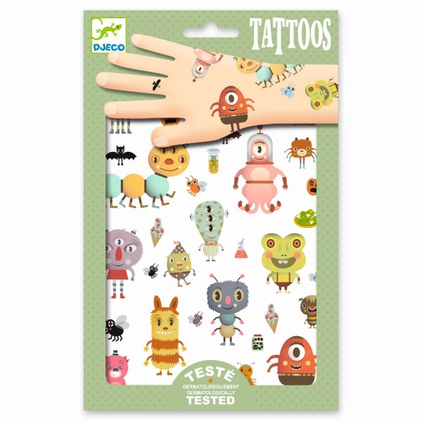Tattoos: Kleine Ausserirdische