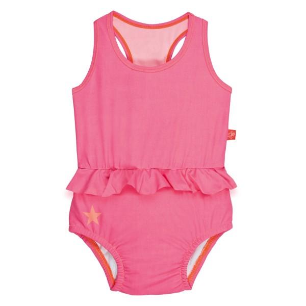 Badeanzug Mädchen, 12 Monate, light pink