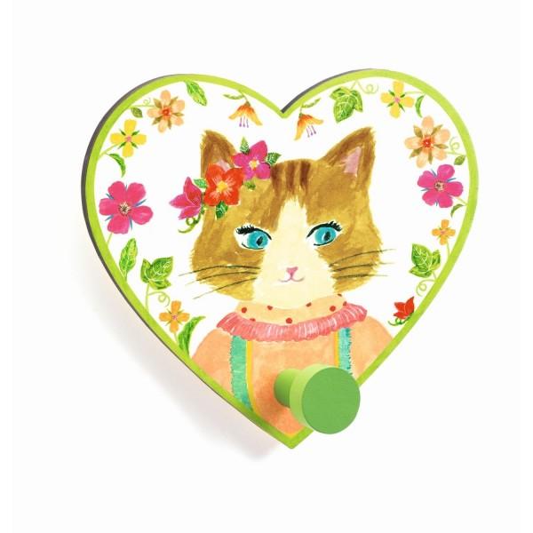Garderobenhaken: Miss Cat