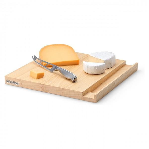 Käsebrett mit Messer