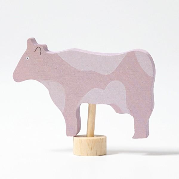 Stecker Kuh gefleckt