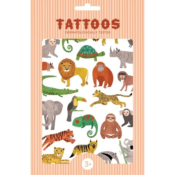 Tattoos Dschungel
