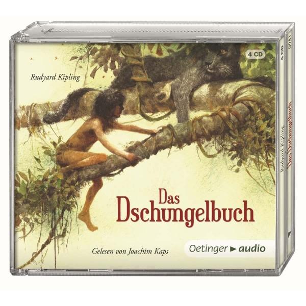 Das Dschungelbuch 4 CDs