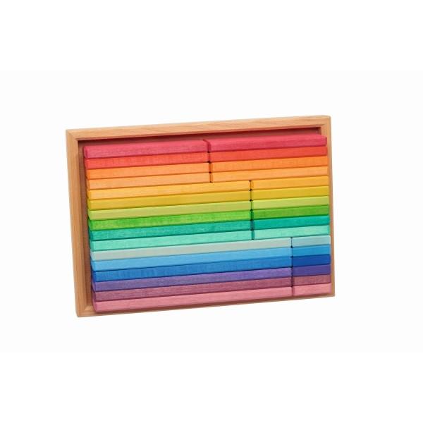 Baukasten Regenbogen