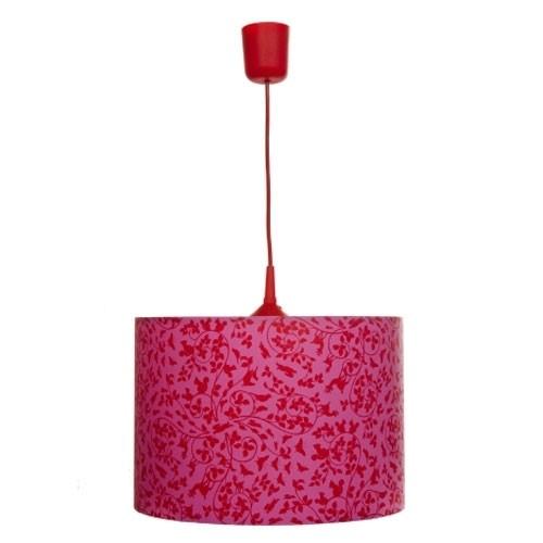 Deckenleuchte Waldmotiv Pink
